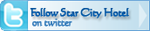 Follow Star City Hotel on twitter